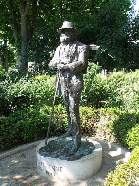 Statue Cezanne