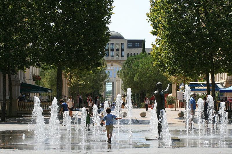 Quartier Antigone Montpellier