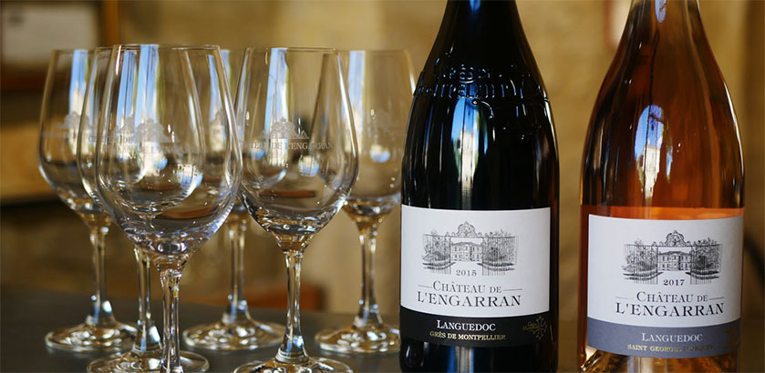Deguster Vin Chateau Engarran