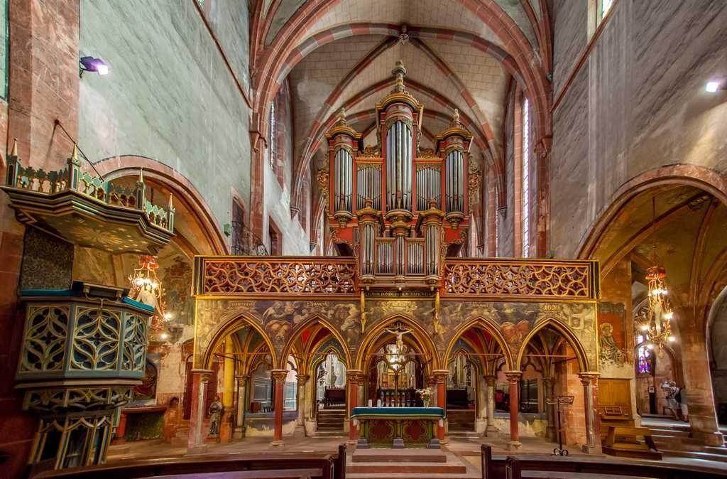 Eglise Protestante Saint Pierre Le Jeune©philippe De Rexel