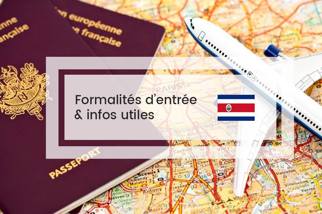Formalités Costa Rica