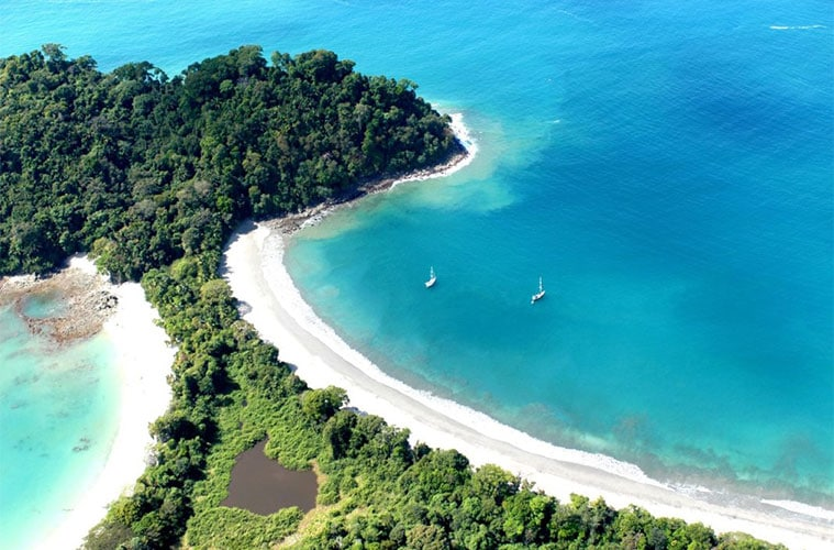 Plage Parc National Manuel Antonio