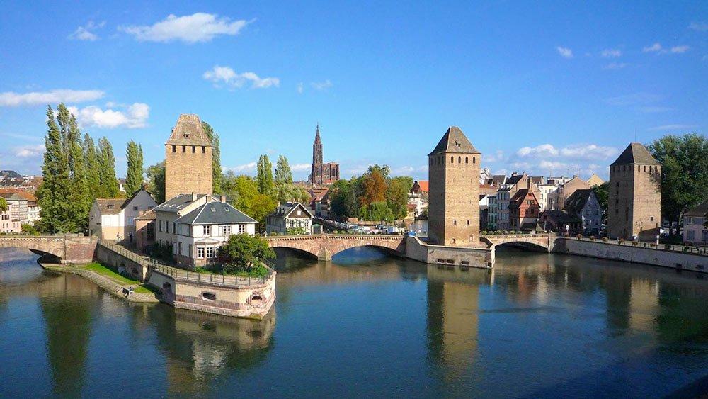 Pont Couvert Strasbourg