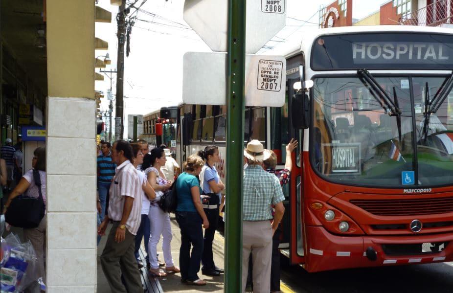 Transport Bus Costa Rica