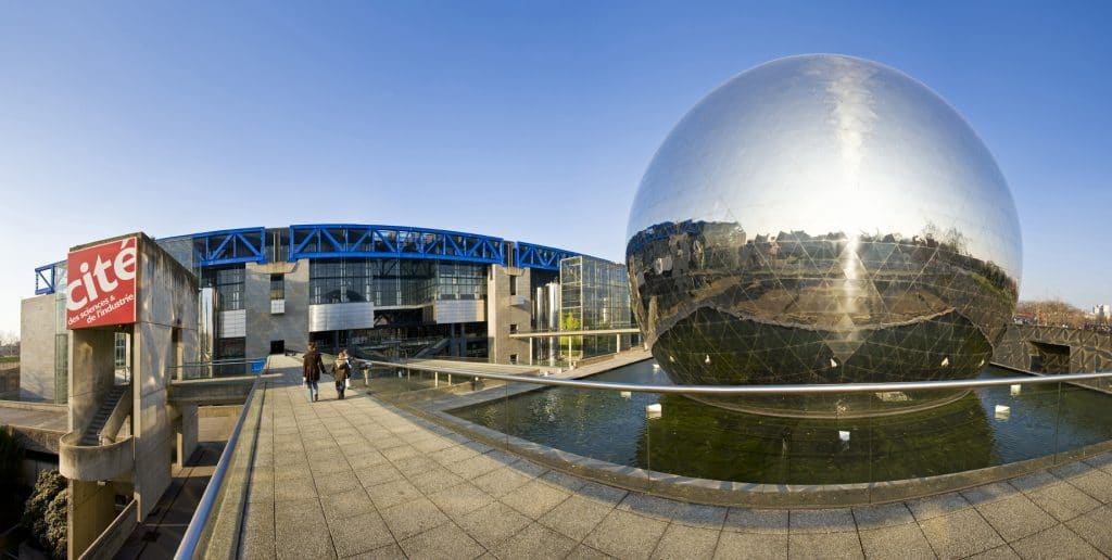 Cite Des Sciences Et De L'industrie, La Villette, Paris, France
