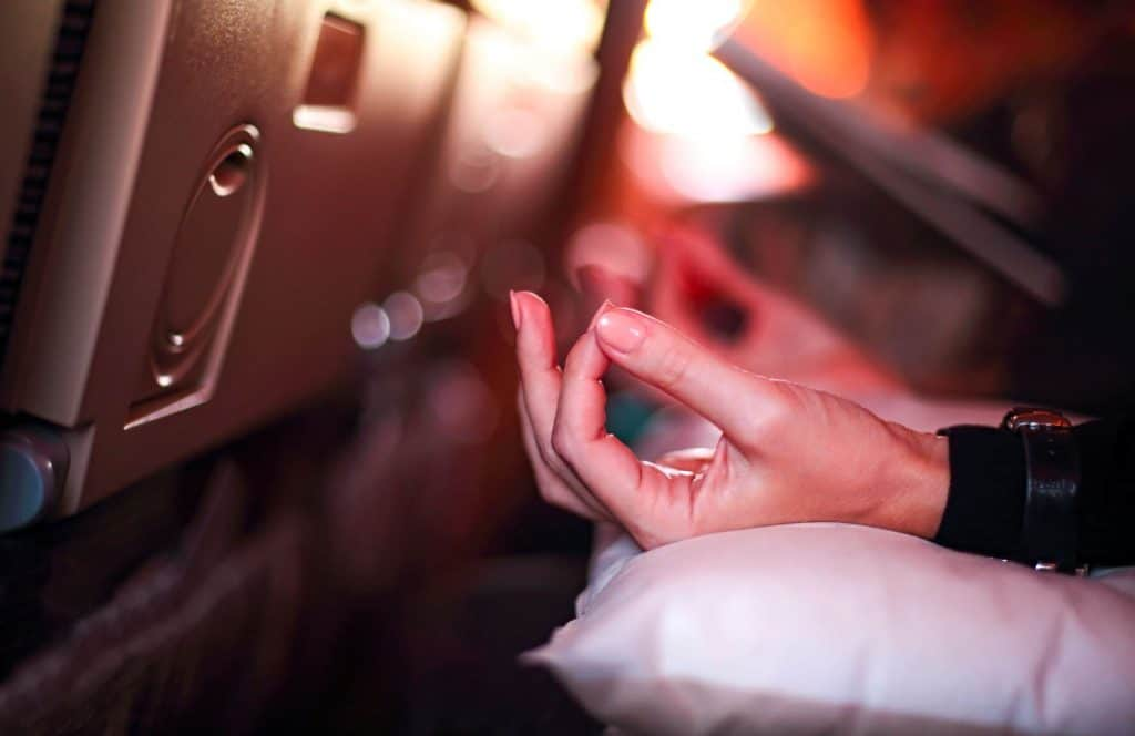 Avion Méditation