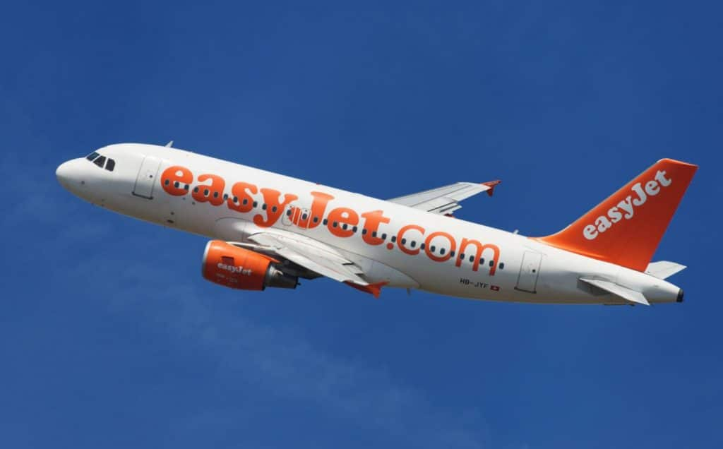 Easy Jet Avion Vol