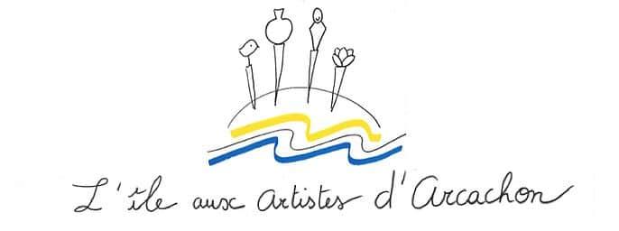 logo L'île Aux Artistes D'arcachon