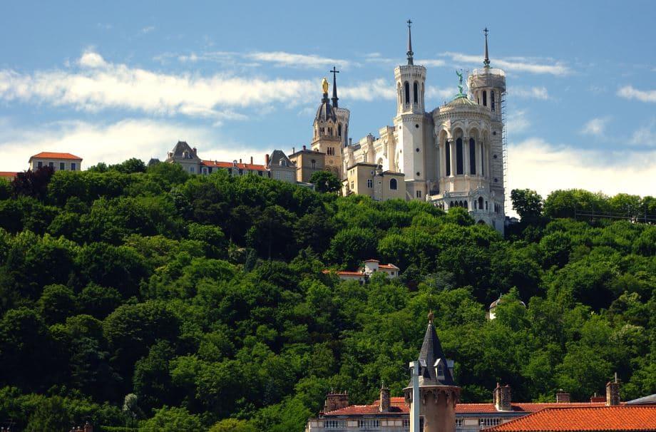 Lyon Basilique De Fourvière