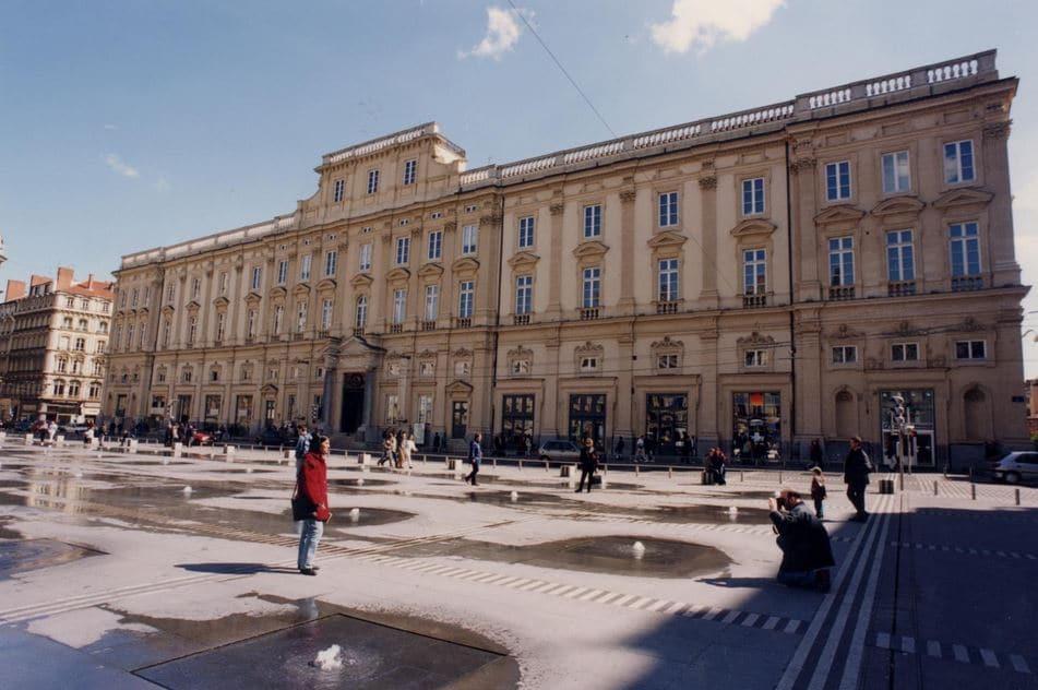 Musée Des Beaux Arts De Lyon Place Des Terreaux