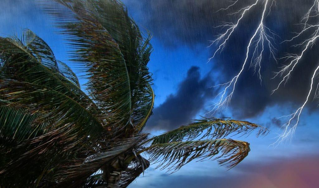 Pluie Antilles