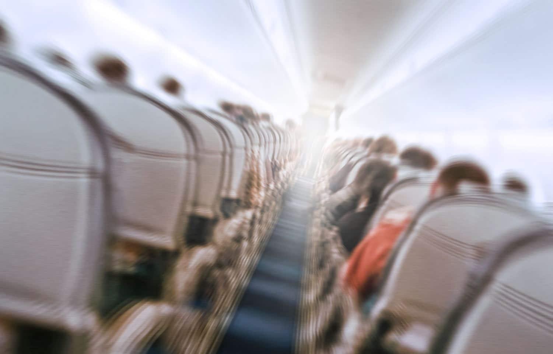 Turbulences Avion