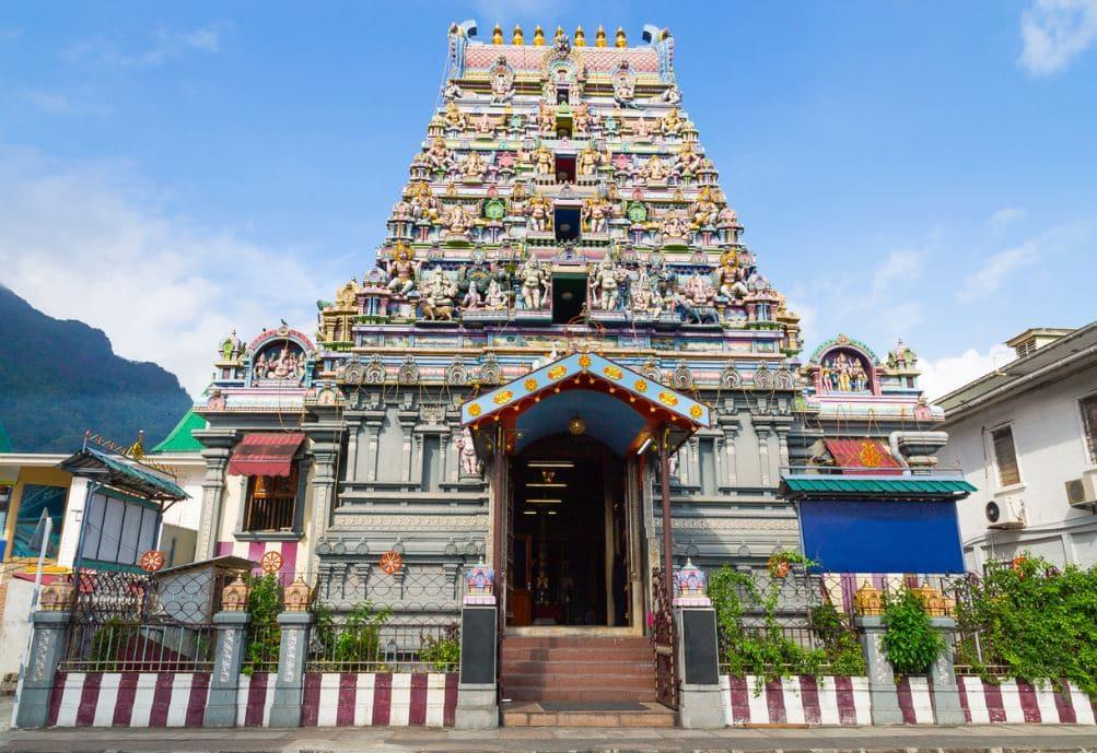 Arul Mihu leandre Vinayagar Temple Victoria Mahé Seychelles
