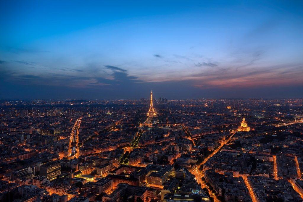 ville Paris de nuit