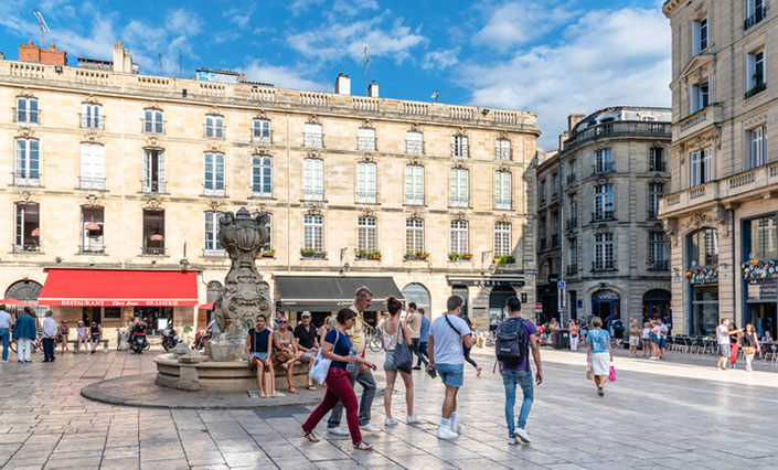 Place Du Parlement Bordeaux