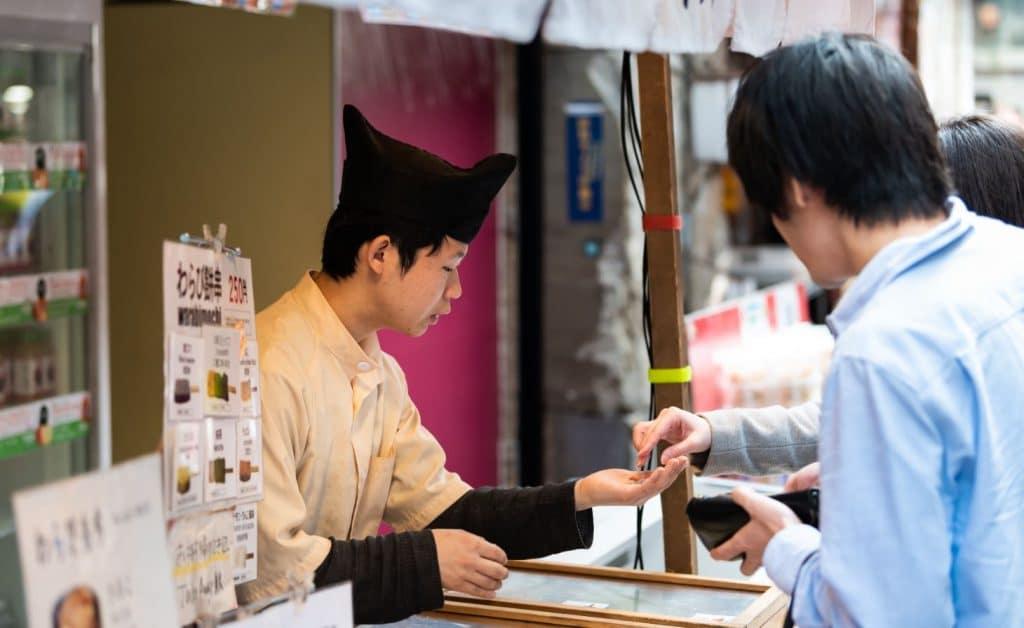 Restaurant Paiement Japon