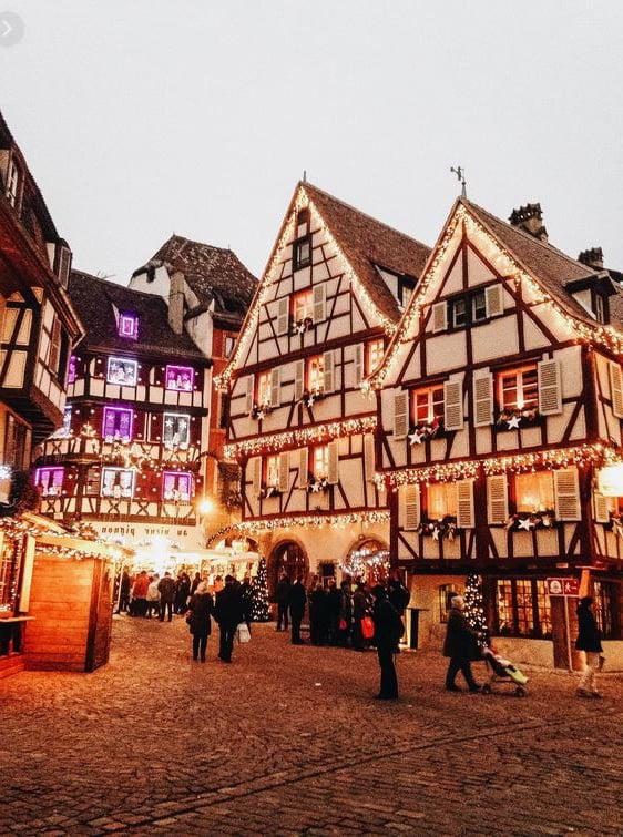 Grandes Rue De Colmar A Noel