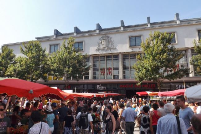 Marche Halles Chambery