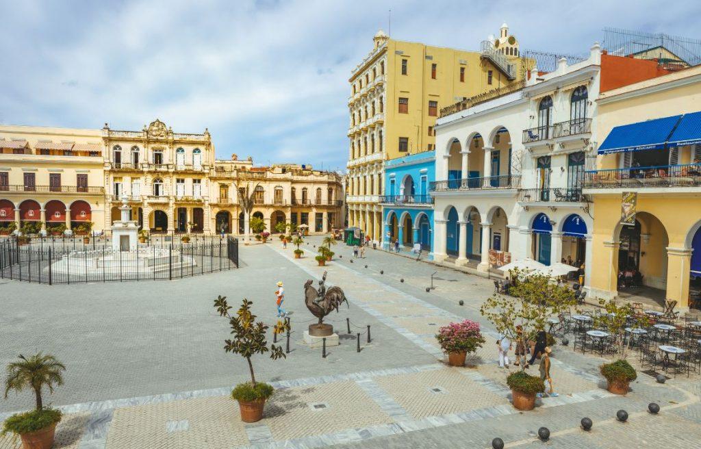 Plaza Vieja Vieille Havane