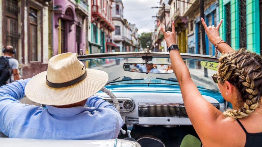 Cuba Voiture Americaine