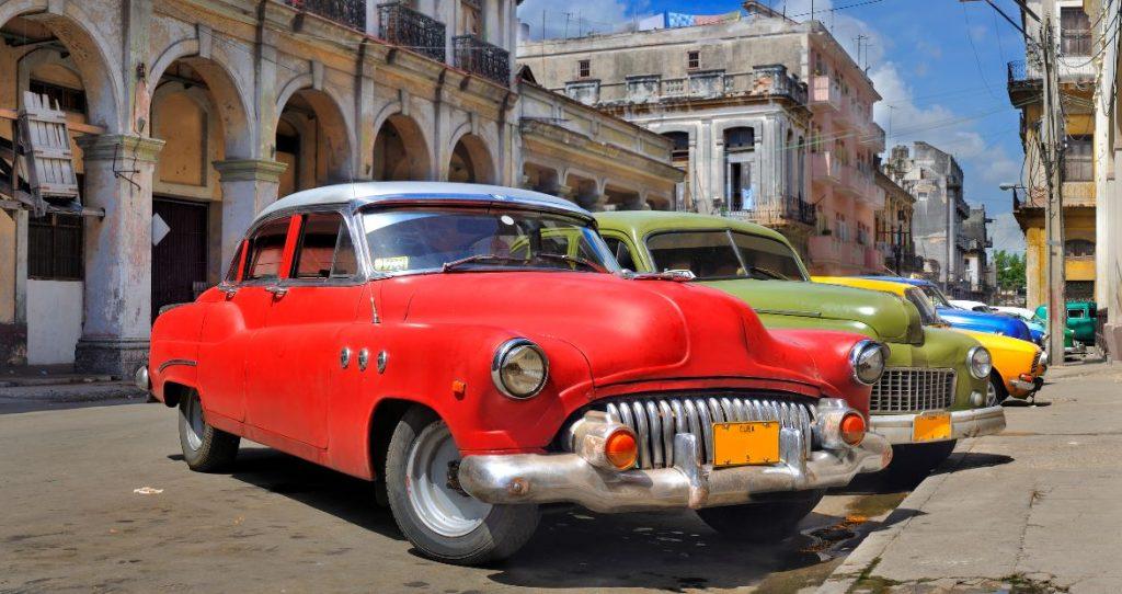 La Havane Voiture Americaine