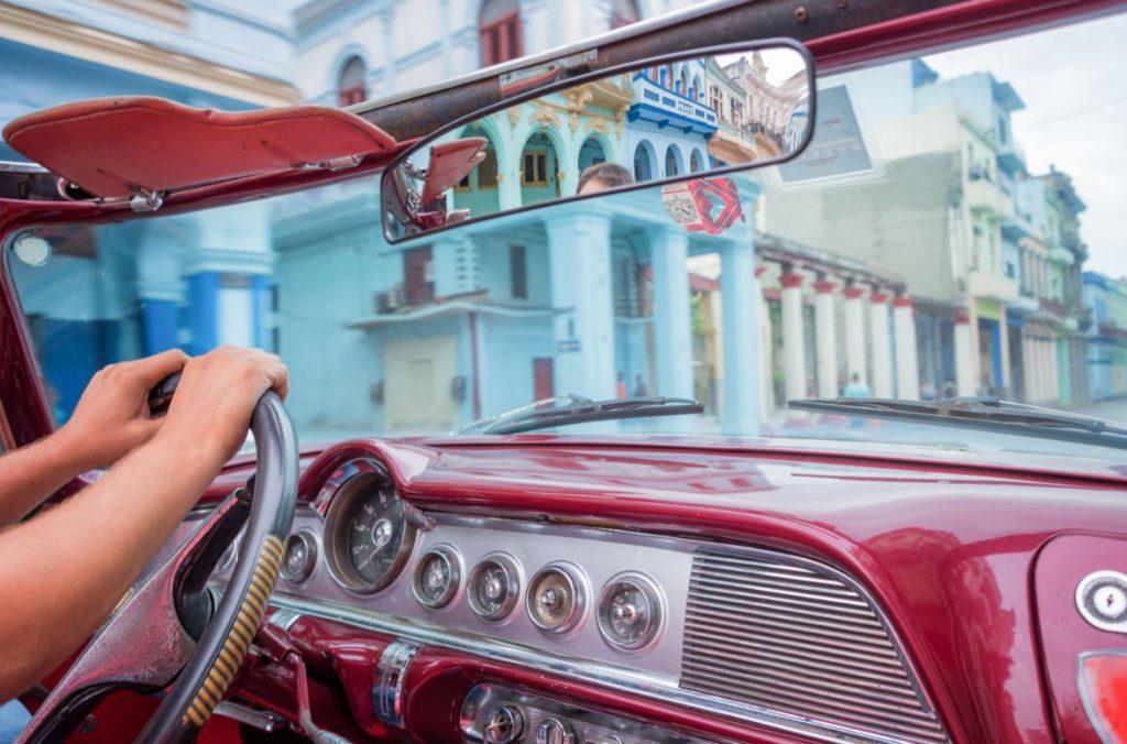 Conduire Voiture Cuba Voyage