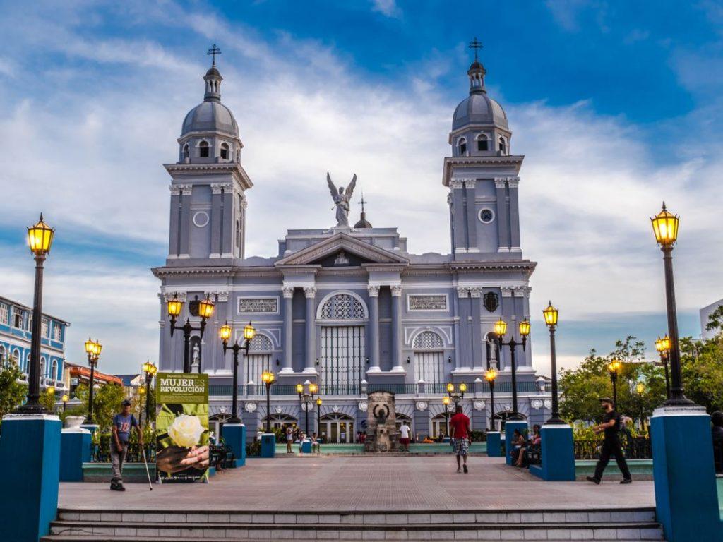 Cathedrale Centre Santiago De Cuba