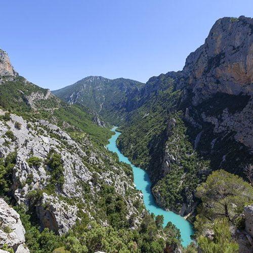 Canyoning Verdon Europe Lieu