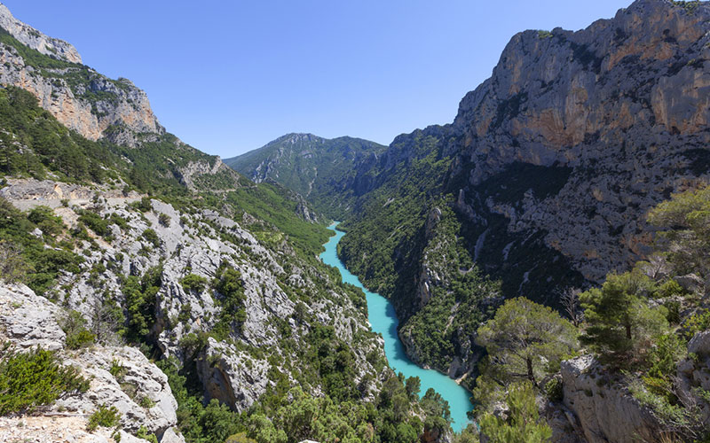 Canyoning Verdon Europe Lieu