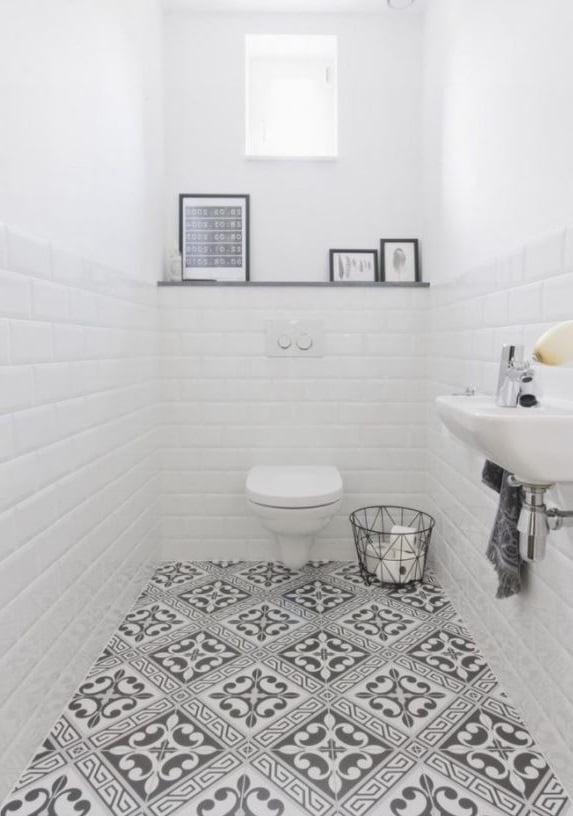 Déco Toilettes Carrelage Métro