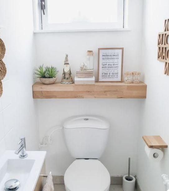 Déco Toilettes Scandinave
