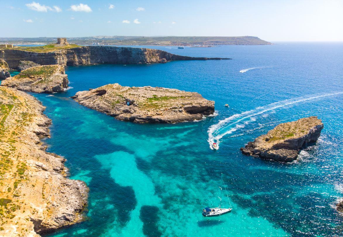 Ile De Comino Malte