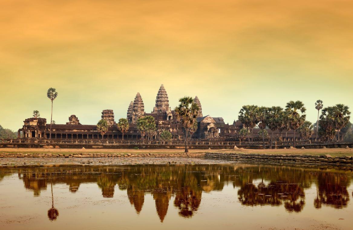 Temple Angkor Wat Cambodge