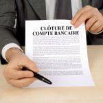 Cloture De Compte Bancaire