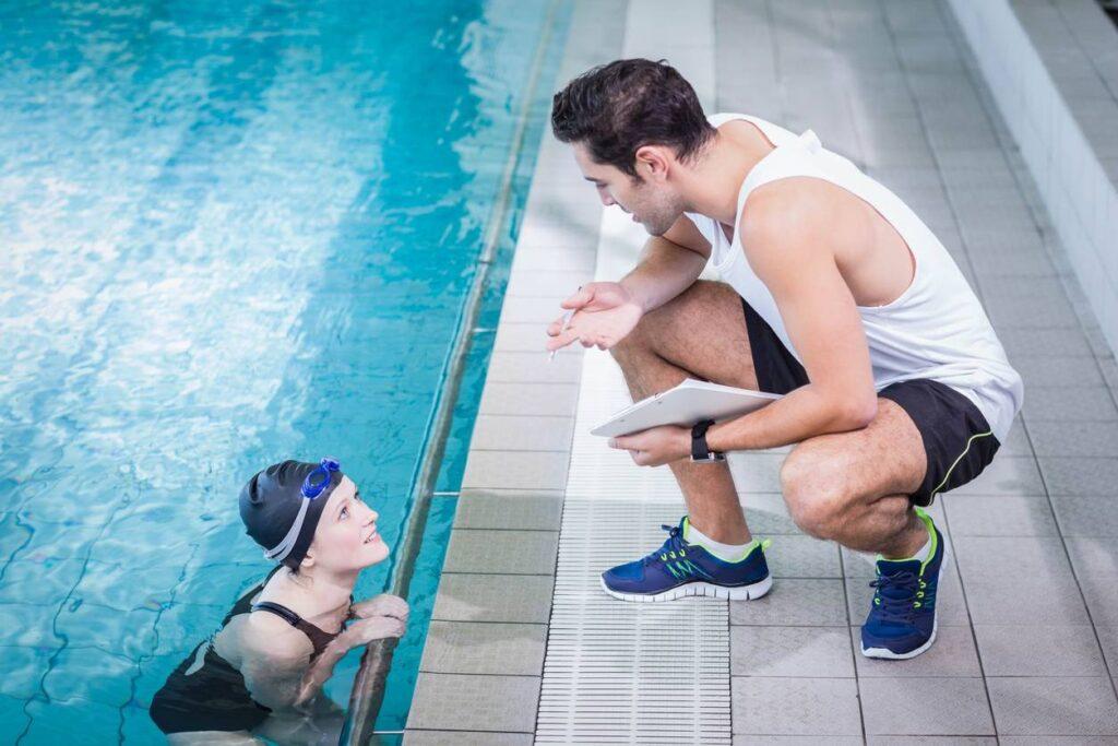 entrainement natation coaching
